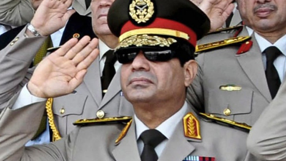 High hopes for Egypt's Al-Sisi to stabilize Middle East