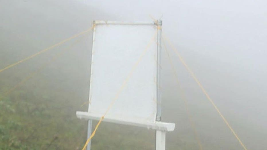 Technology could harvest water from fog and clouds