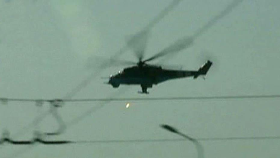 14 Ukrainian soldiers killed after chopper shot down