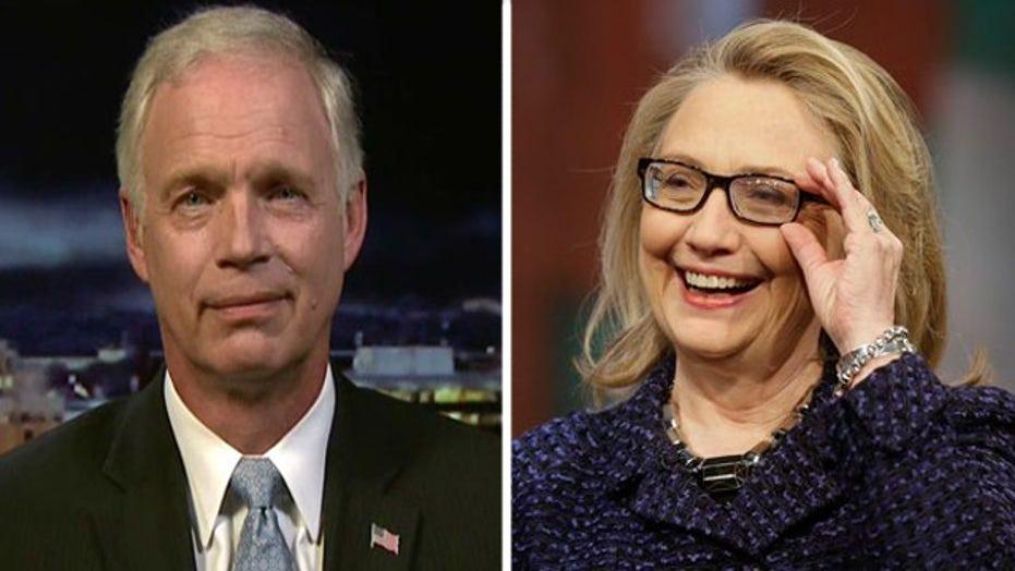 Sen. Johnson on Hillary's new explanation of Benghazi