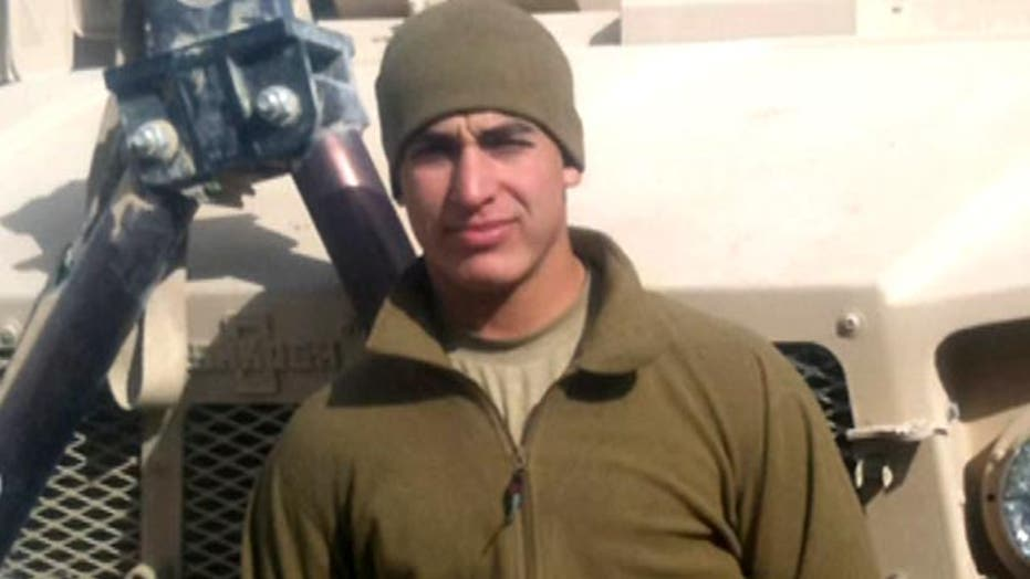 Jailed Marine's story of service, courage and PTSD struggle