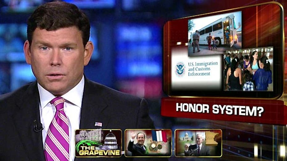 Grapevine: Immigration officials trusting honor system?