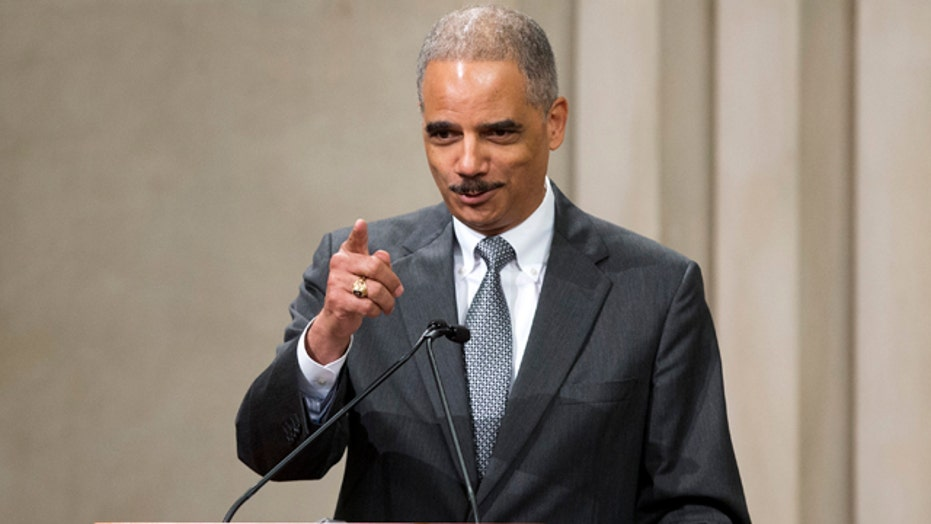 Eric Holder being investigated for Hill testimony