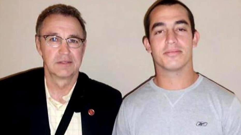 Lawmaker visits jailed Marine in Mexico