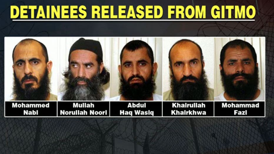 Five Taliban leaders freed for one American POW