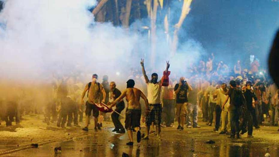 Turkey's protests show debate over country's identity