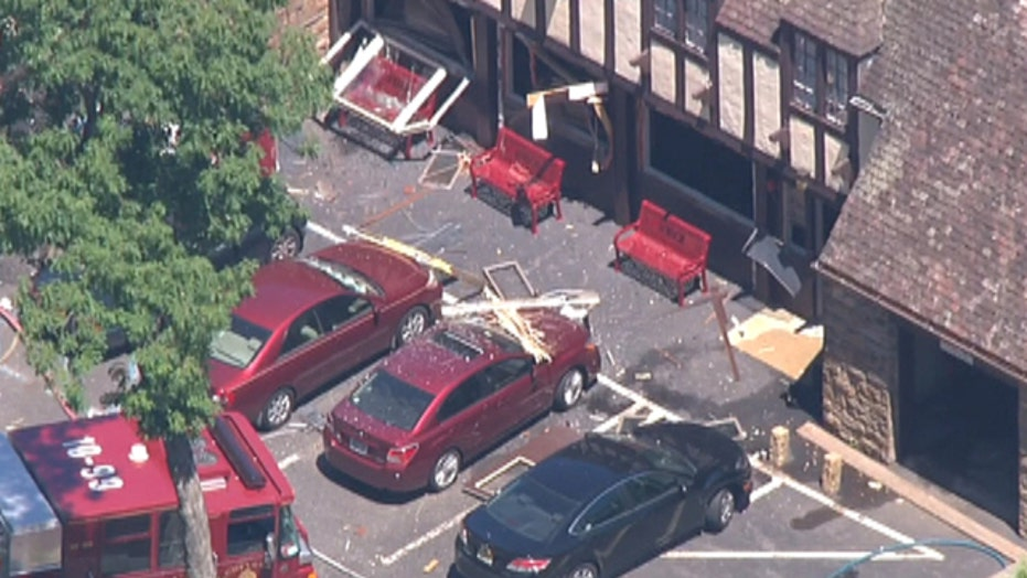 Gas explosion at college north of New York City