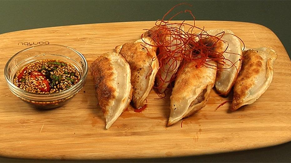 Judy Joo's Meaty Mandu Dumplings