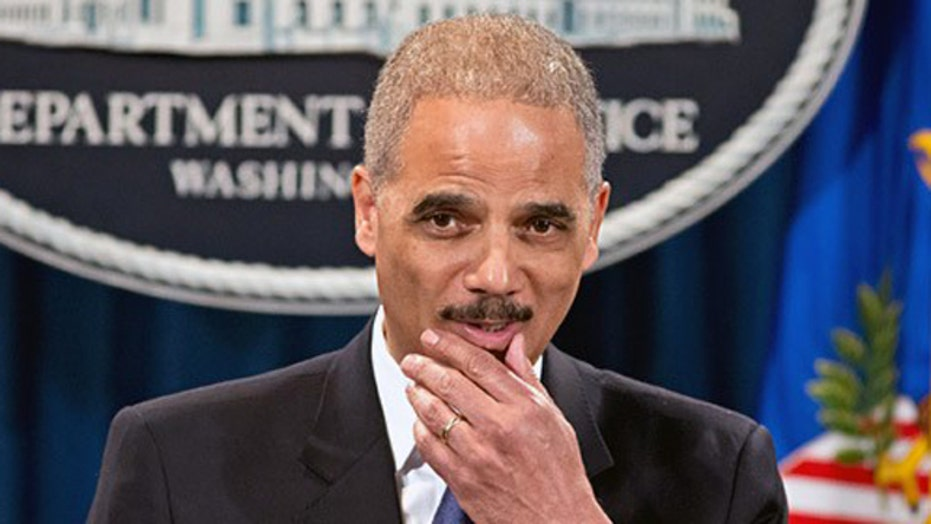 What potential legal consequences does Eric Holder face?