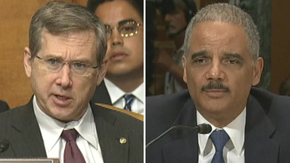 Senator to Holder: Were Congress, Justices Spied On?