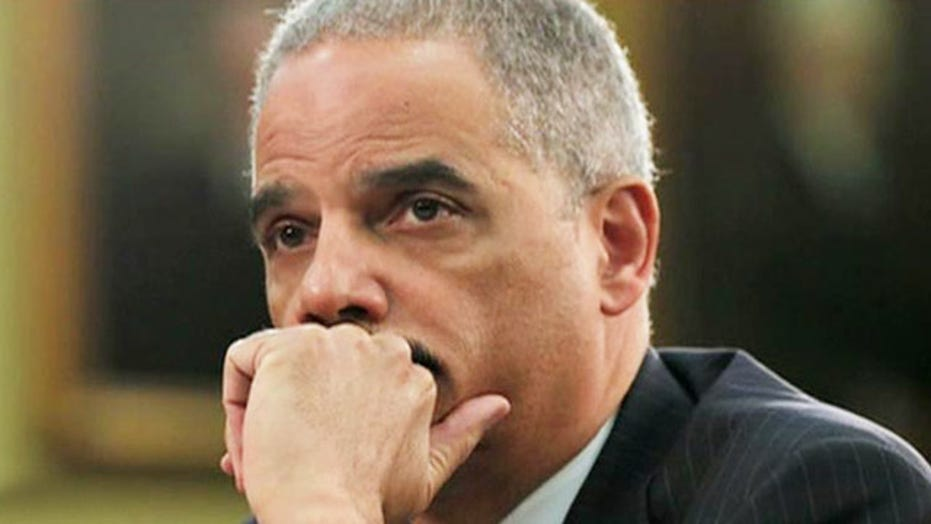 Is Holder being held accountable for DC scandals?