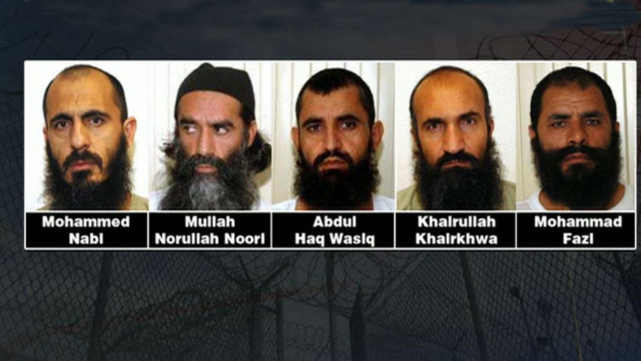How many Gitmo parolees return to the battlefield?