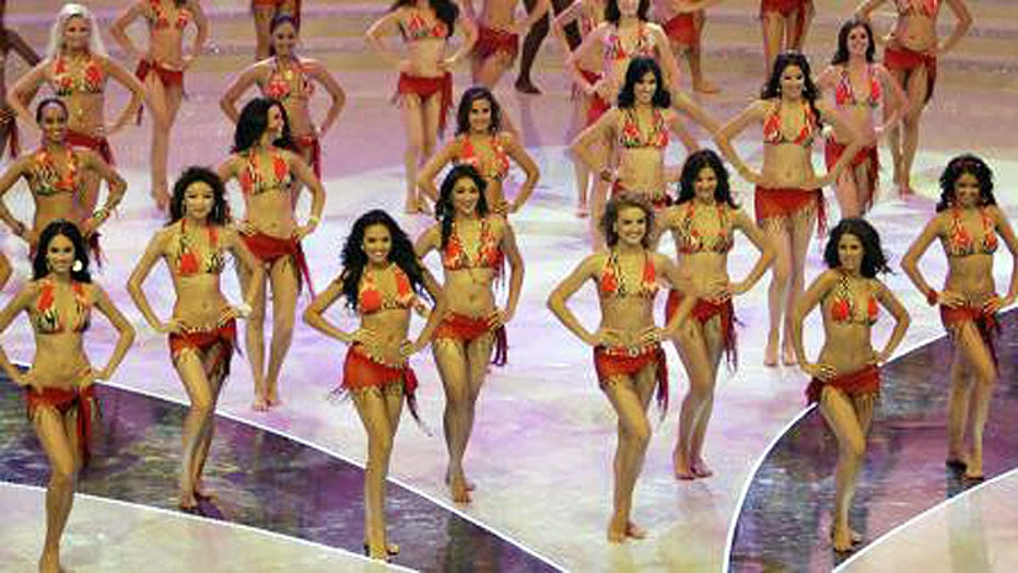 Bikini ban at Miss World pageant