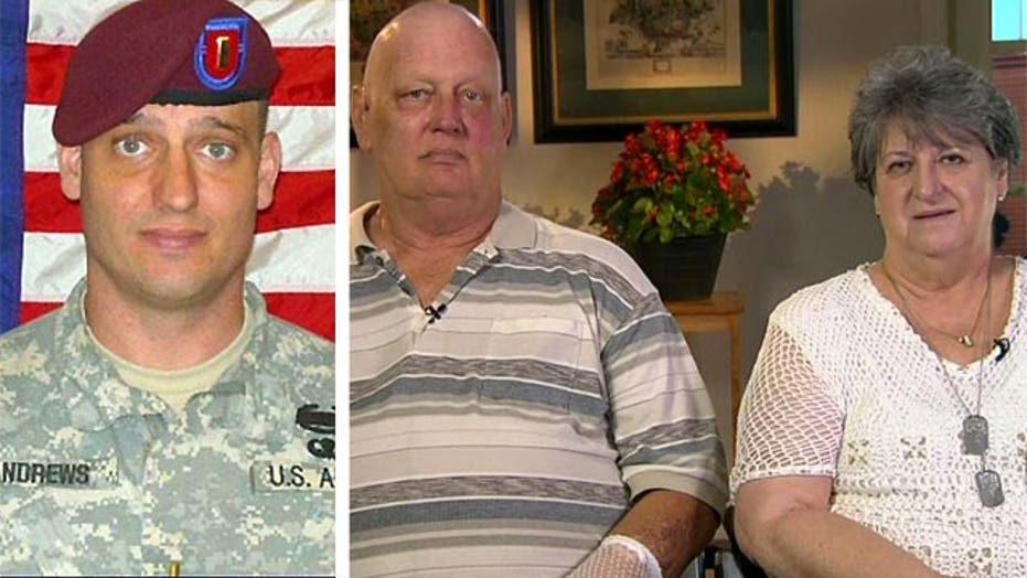 Fallen soldier's mother calls Bergdahl release 'distressing'