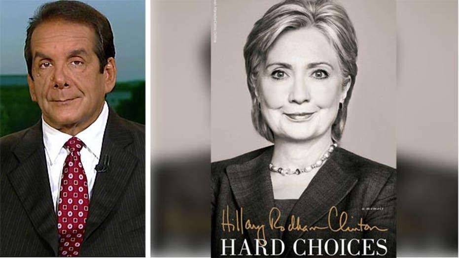 Krauthammer: Hillary's book 'a good launch'