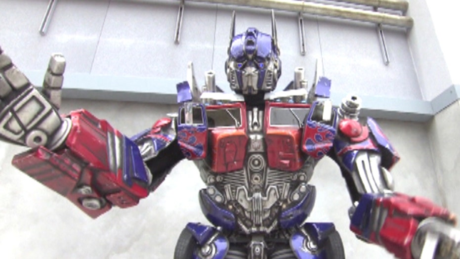 Are you ready? The Transformers are coming to Universal