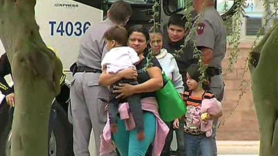 Critics blame WH for 'flood' of illegal immigrants