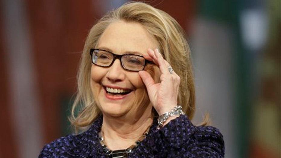 Hillary Clinton seeks to clear up 'dead broke' remark