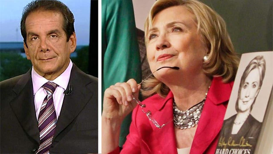 "Krauthammer: Hillary Clinton's ""Insincerity"""