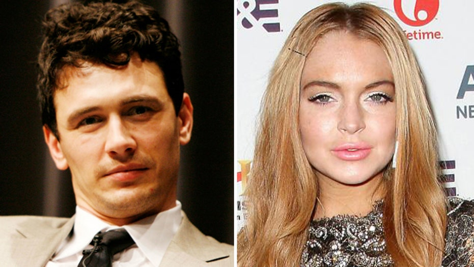 James Franco writes about Lohan tryst