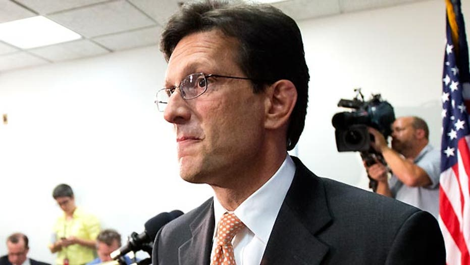 Cantor loss throws GOP into serious flux