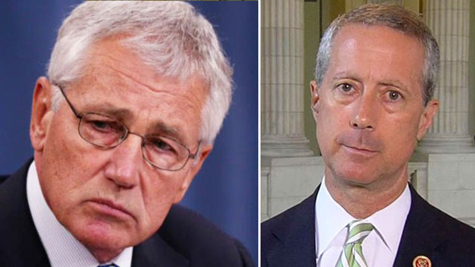 Lawmakers want answer from Hagel on Taliban prisoner release