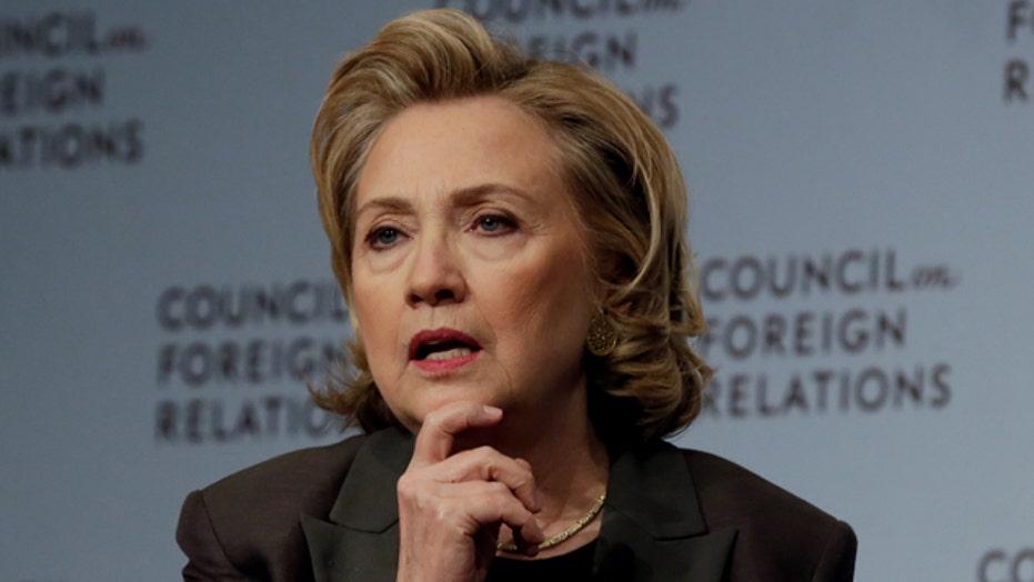 Hillary Clinton's popularity waning?