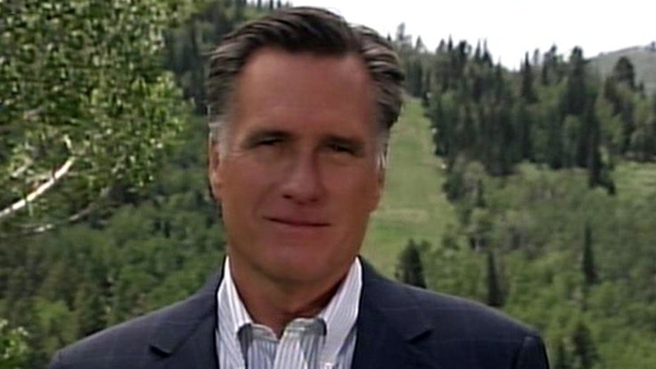 Mitt Romney on problems at the VA, foreign policy issues