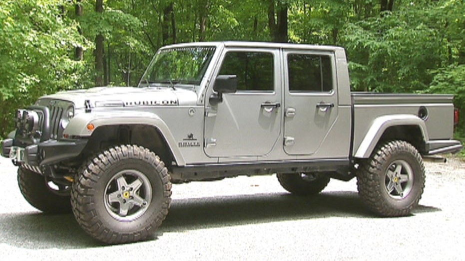 Jeep Pickup is a Brute