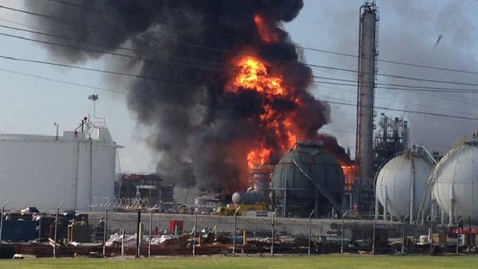 Injuries reported at chemical plant explosion in Louisiana
