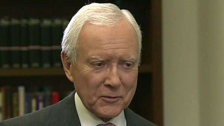 Hatch on concerns about IRS, ObamaCare and scandal