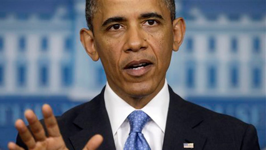 Scandal clouds rain and pour on Obama, public