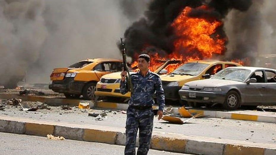 Militants continue push towards Baghdad