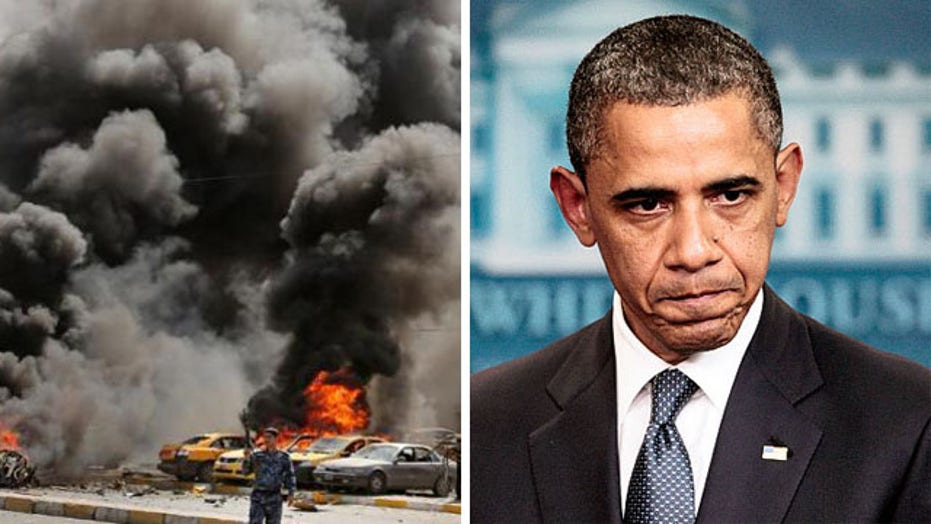 Did the crisis in Iraq catch Obama by surprise?