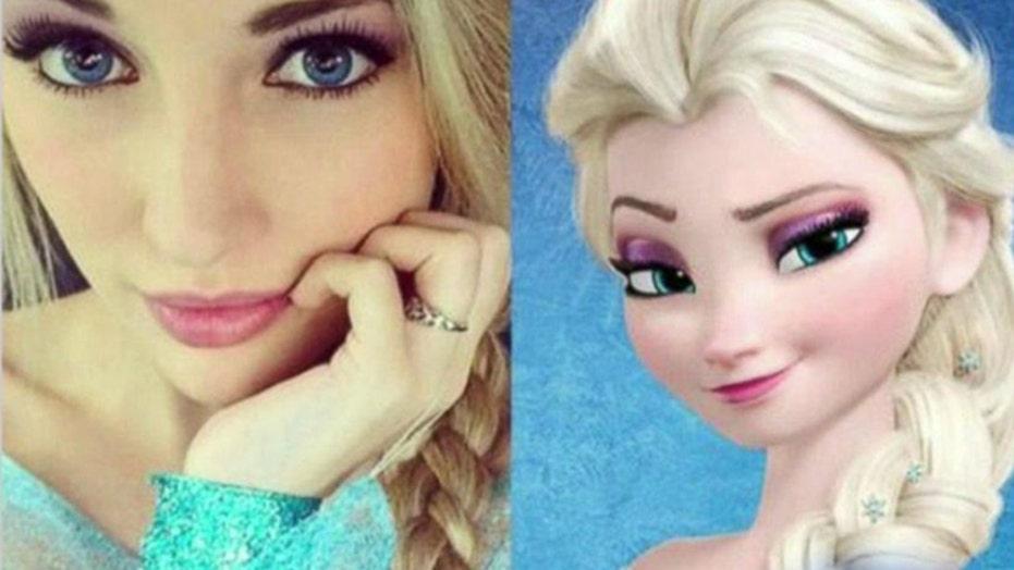 Disney doppelganger is 'Elsa' lookalike