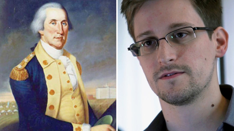 NSA leaker: What would George Washington do?