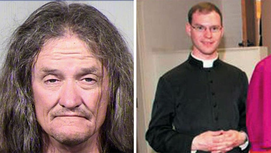 Phoenix police arrest ex-con for murder of Arizona priest