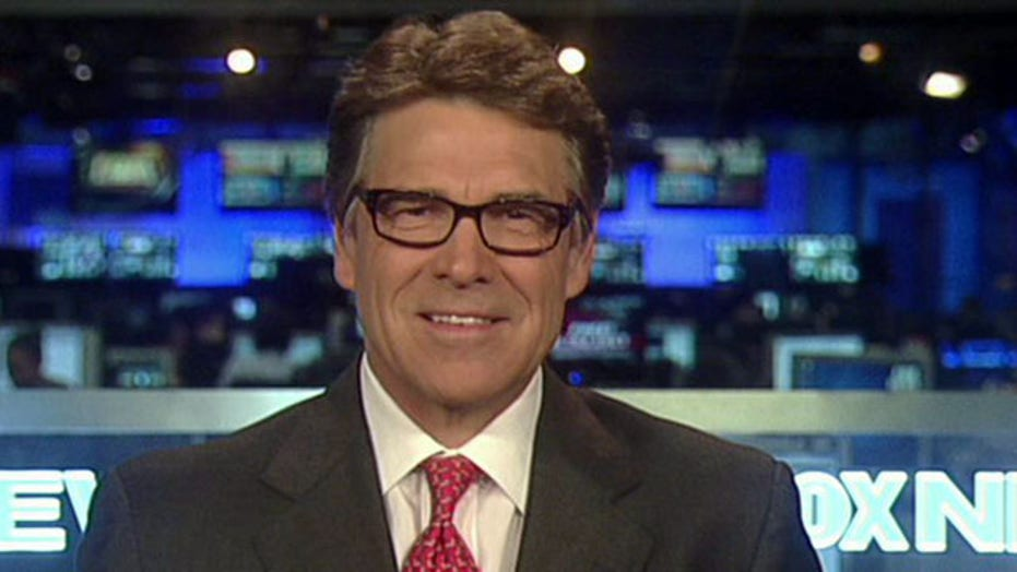 Gov. Perry calls southern border surge a 'national disaster'