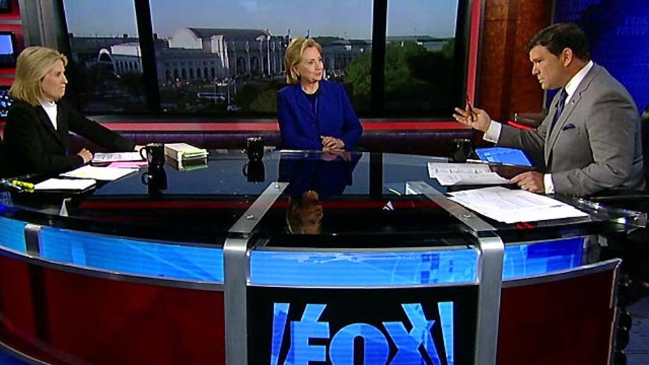 Hillary putting distance between herself, Obama?