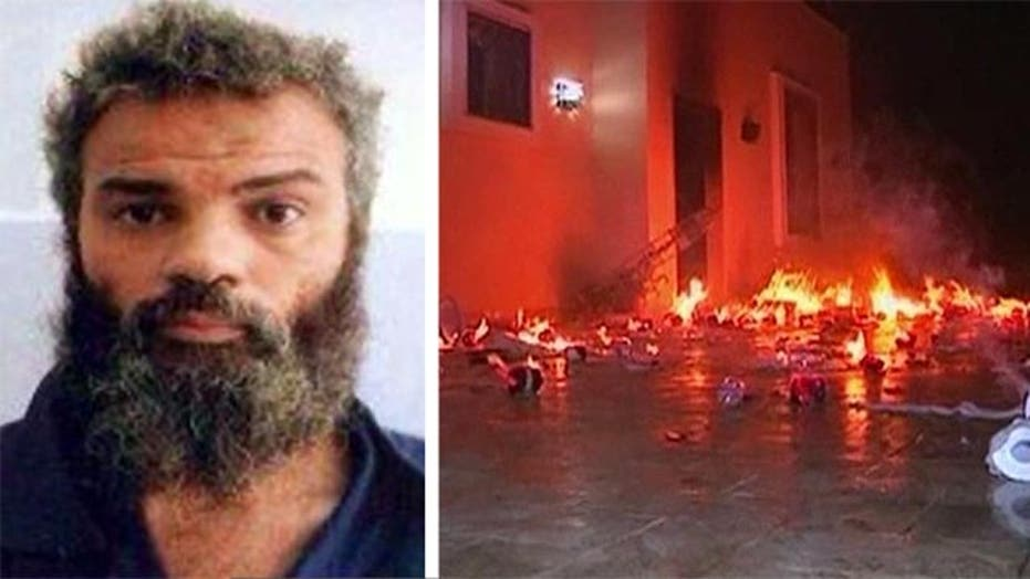 How was Benghazi attack suspect Ahmed Abu Khatalla captured?