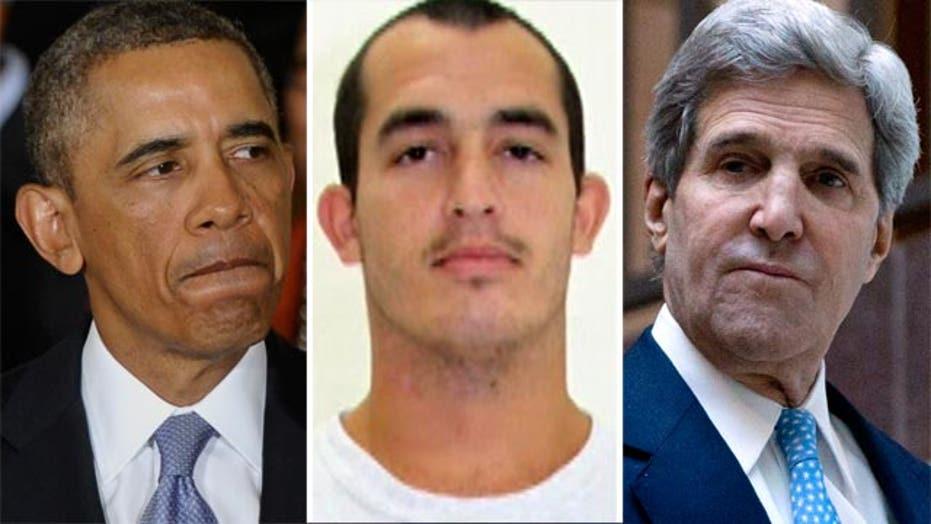 Greta: Obama, Kerry, where are you on the jailed Marine?