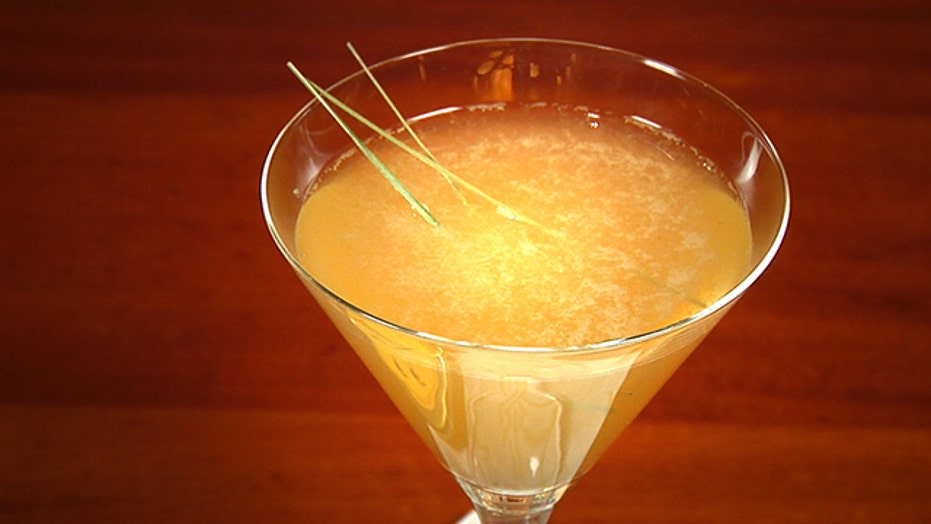 The Waldorf Astoria's Wax Poetic Cocktail