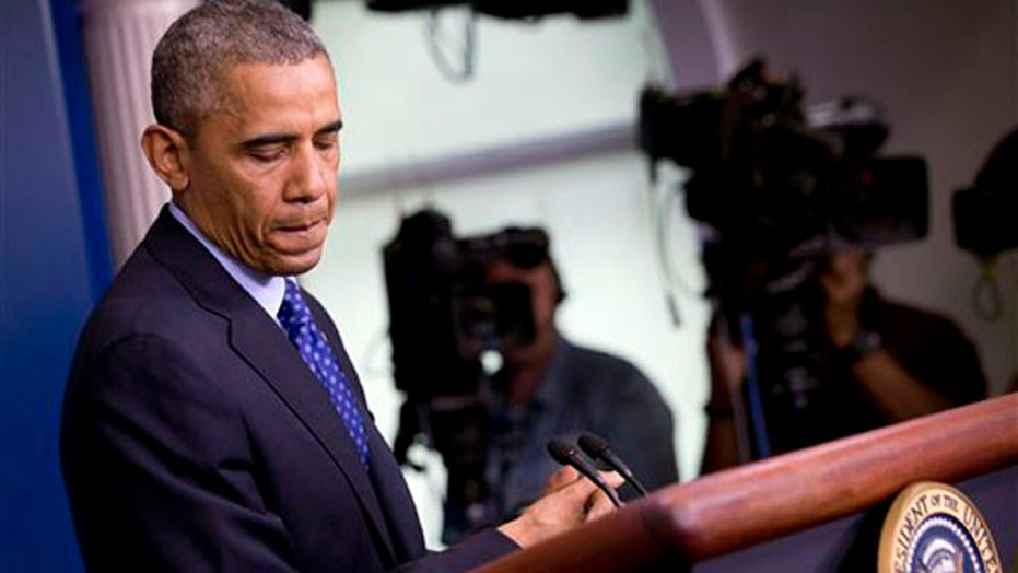 Poll shows confidence in Obama waning amid Iraq chaos