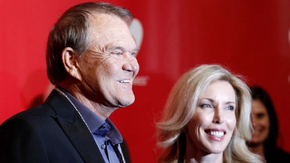 Glen Campbell's wife defends care