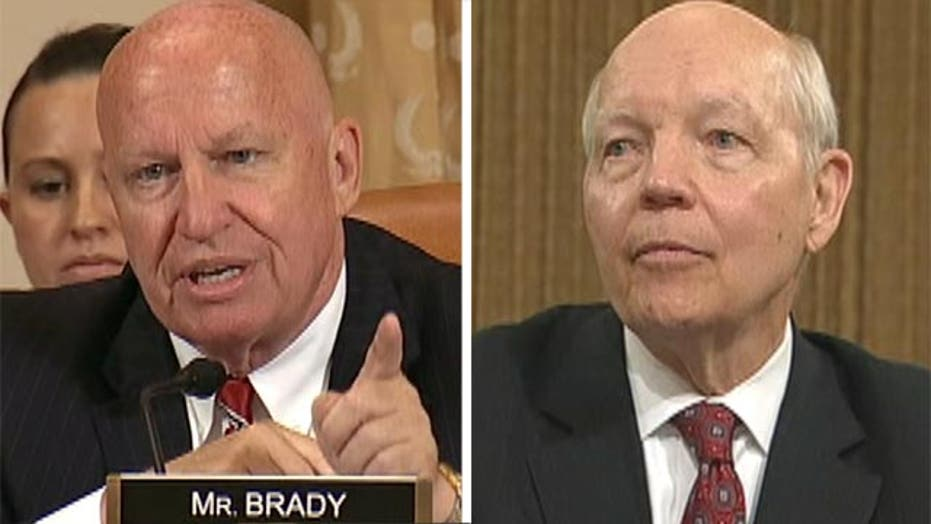 Rep. Brady offers insight into IRS commissioner's testimony