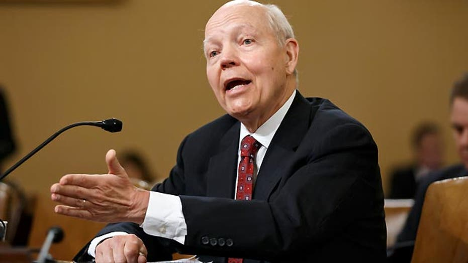 IRS getting grilled on Capitol Hill
