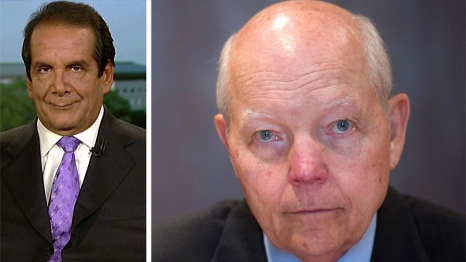 Krauthammer: IRS Clearly Withholding Information