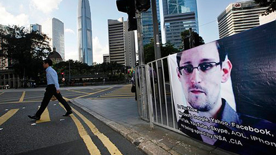 Edward Snowden charged with espionage
