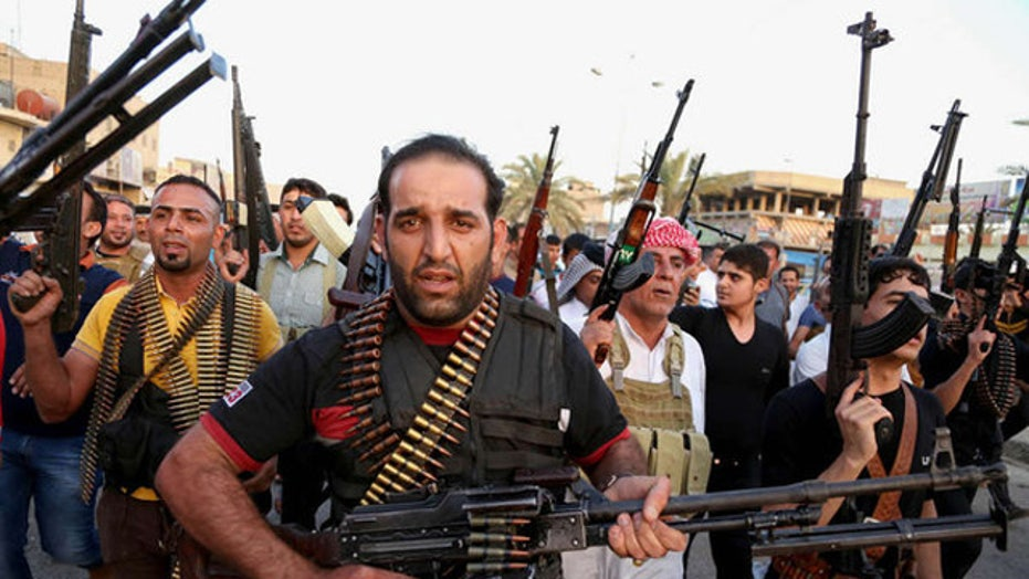 Sunni militants seize another town in Anbar province