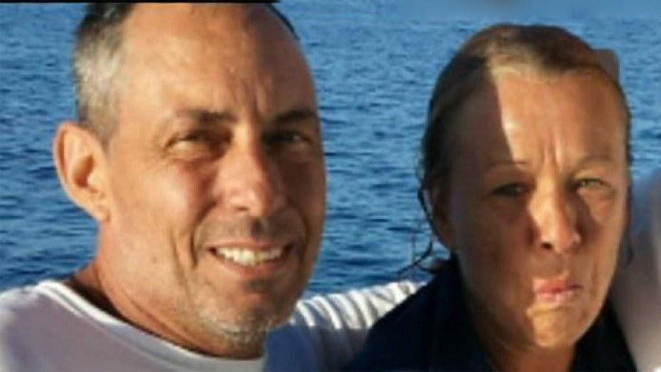 Florida couple rescued after falling overboard at sea